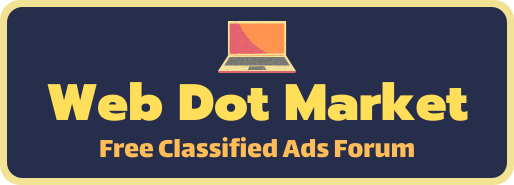 Web Dot Market - Free Classified Ads Forum